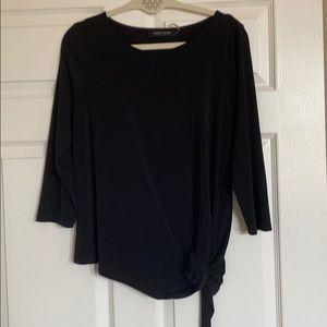 Black ivanka trump women's blouse euc medium